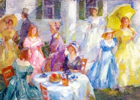 A Garden Party - Spring Picnic