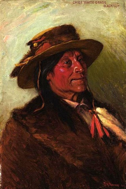 Chief White Grass, Blackfoot