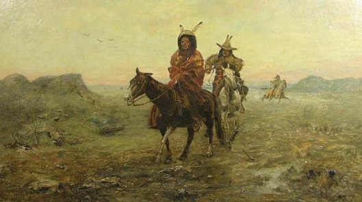 Indians On The Plains