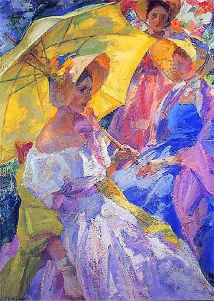Ladies In The Garden, Old Lyme