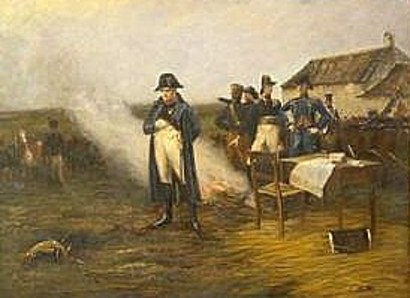 Napoleon After The Battle Of Waterloo