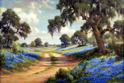 Brenham, Texas - Bluebonnet Trail
