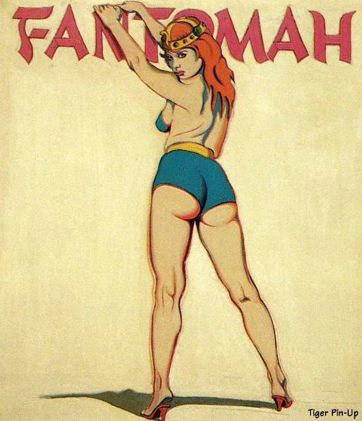 Fantomah - Daughter Of The Pharaohs