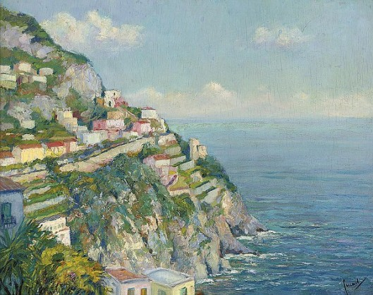 On The Amalfi Coast Near Positano