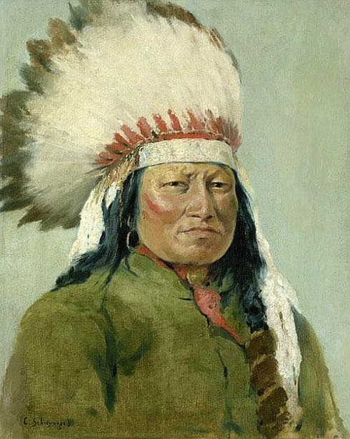Rain In The Face, Hunkpapa Sioux