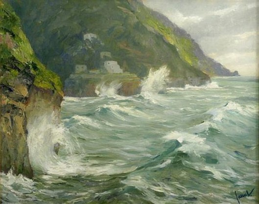 Storm At Sorrentino Coast
