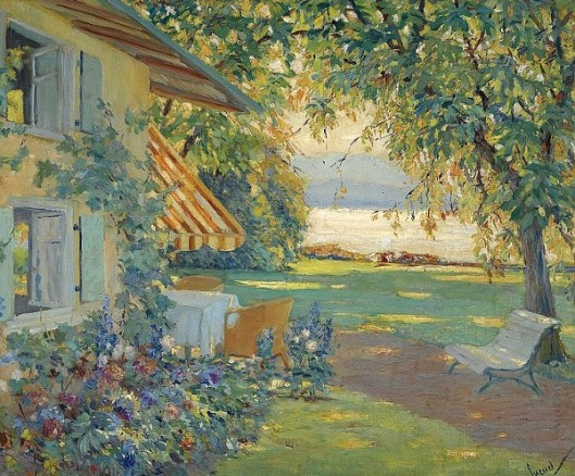 The Artist's Garden On Lake Starnberg