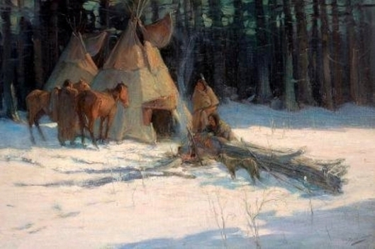 A Winter Camp