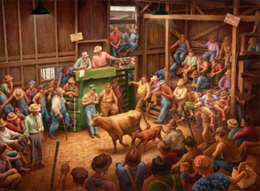 Auction Barn - Farm Auction