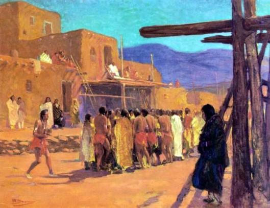 Dance At The Pueblo