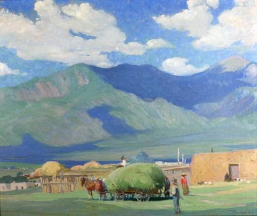 Haying Time In Taos