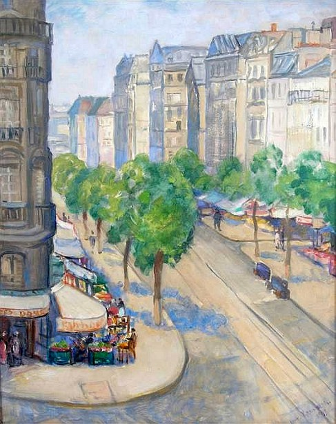 Café du Dome, Boulevard Montparnasse