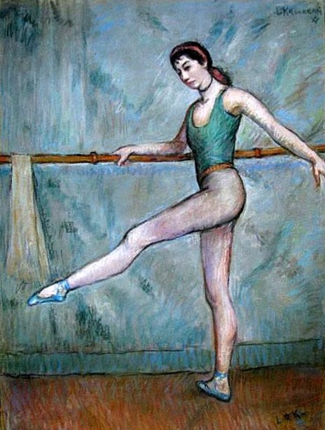 Dancer At The Barre - Pamela Hawkins