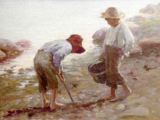 Digging For Clams