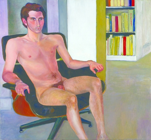 Max Warsh Seated Nude