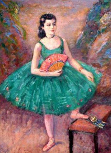 Miss Julia Hillis, Young Dancer