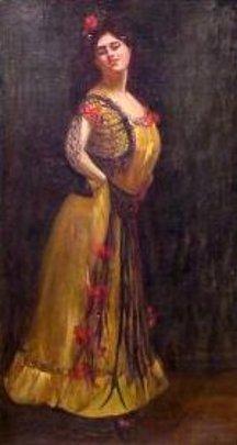 Opera Singer From Bizet's Carmen
