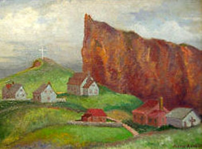Pointe-à-la-Croix And Perce Rock-Gaspe