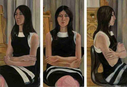 Sylvia Castro Cid (Triptych)