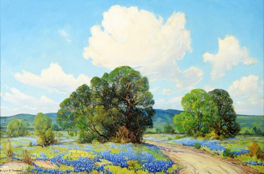 Bluebonnet Landscape