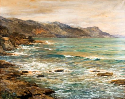 A Gray Day On The Riviera, Cap Ferrat