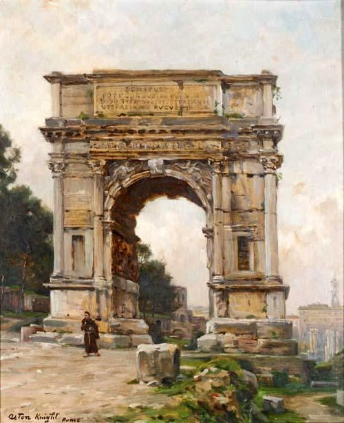 Arch Of Titus, The Forum, Rome