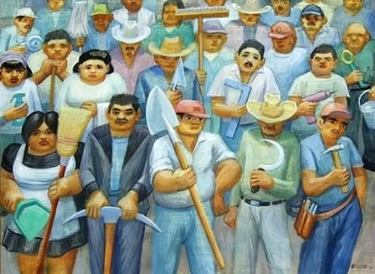 Spanish Workers Of The World