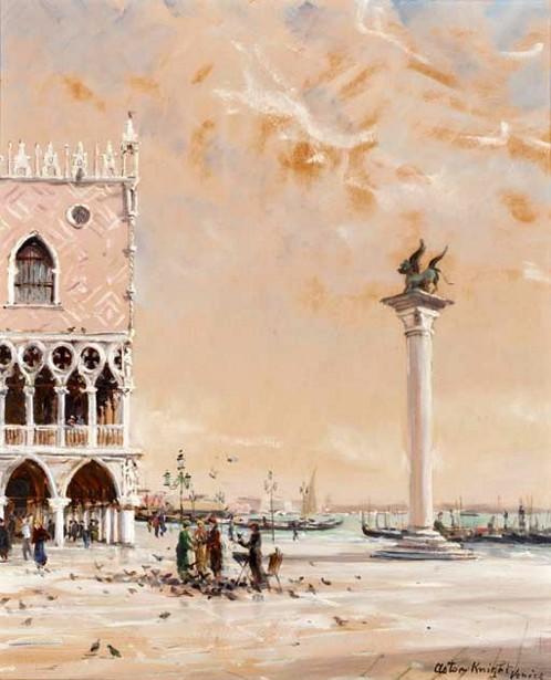 The Lion Of St. Mark, Venice