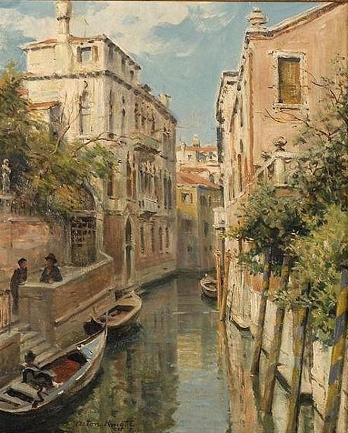 Venetian Coastal Scene