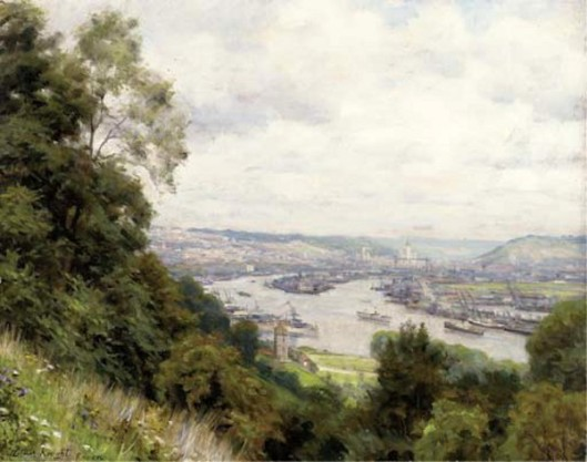 View Of Rouen