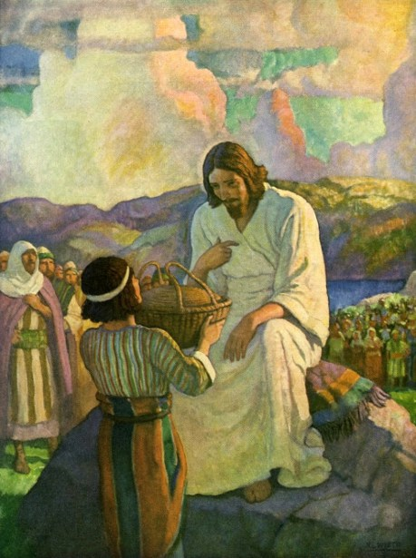 Jesus Feeding The Multitude