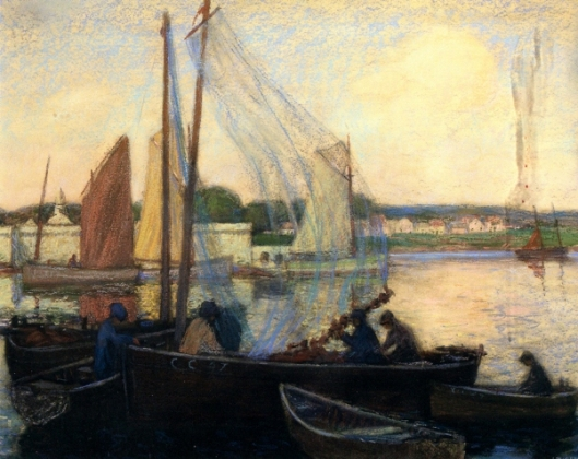 Harbor, Concarneau, Brittany