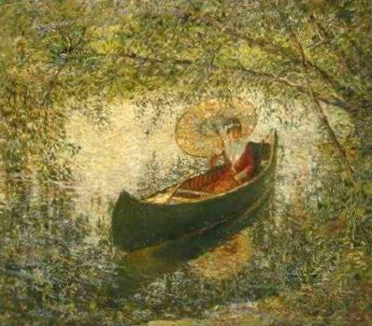 In The Canoe