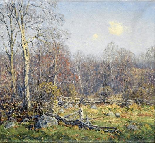 Late April, Lyme, Connecticut