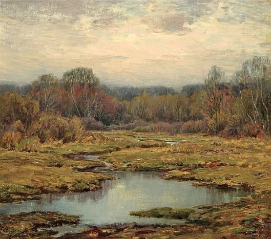 Marsh In Autumn