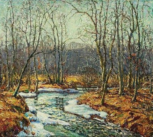 Spring Thaw, Eight Mile River