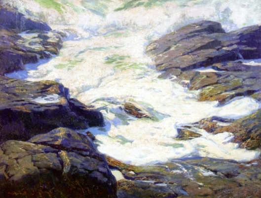 White Surf, Monhegan Island