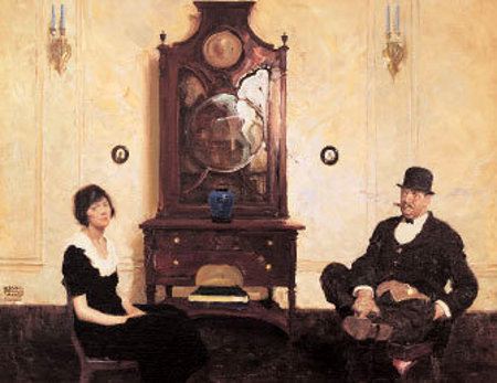 Couple In Parlor