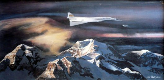 Requiem For A Heavyweight - The B-70 Valkerie's Test Flight Over The Sierra Nevada, 1966
