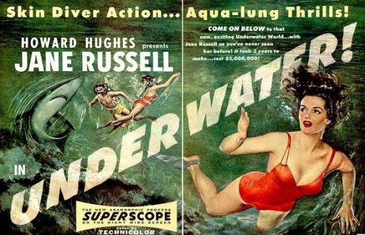 Underwater!