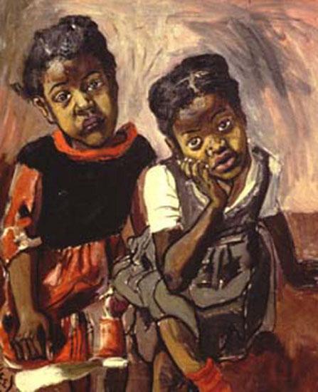 Two Girls, Spanish Harlem