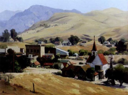 Early View Of Temecula