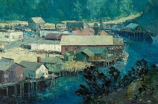 Noyo Harbor, Mendocino County