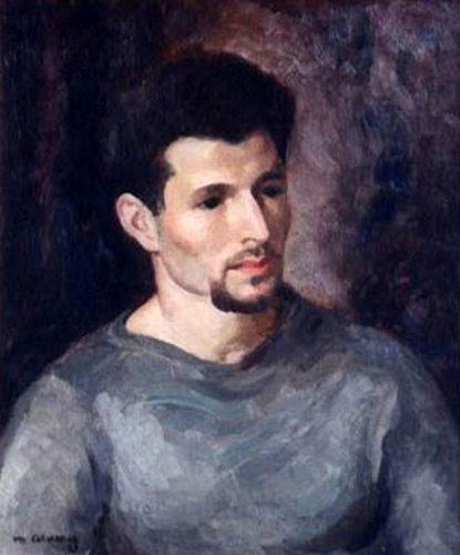 Man With A Beard - The Artist Herman Cherry