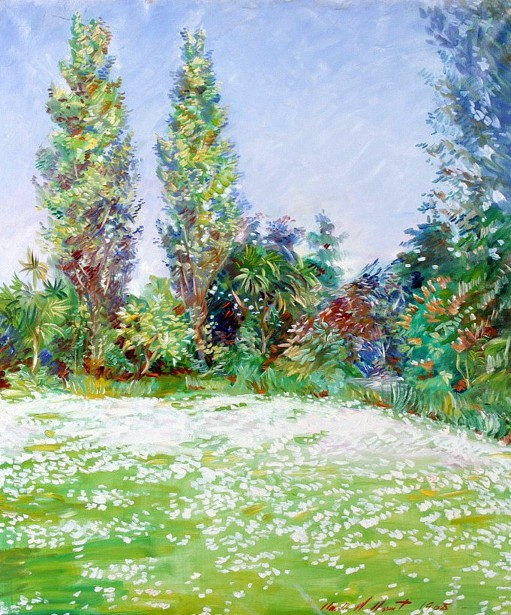 Summer, The Daisy Lawn