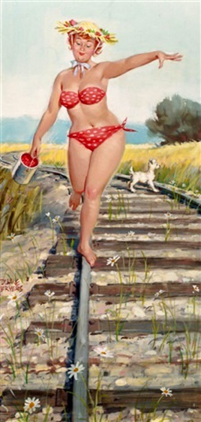 Hilda Walking The Tracks