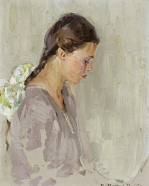 Vivian E. Dunton (The Artist's Daughter)