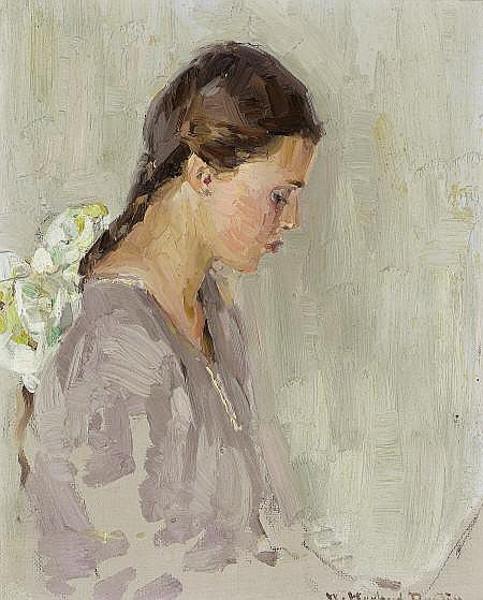 Vivian E. Dunton (The Artist's Daughter)