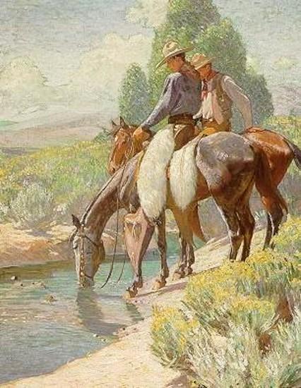 Watering Horses