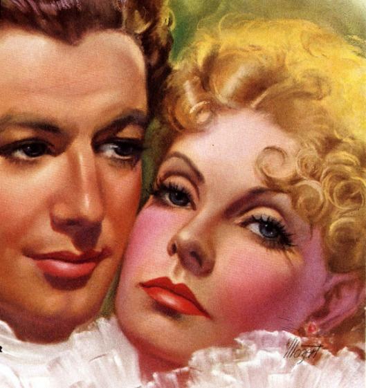 Robert Taylor And Greta Garbo